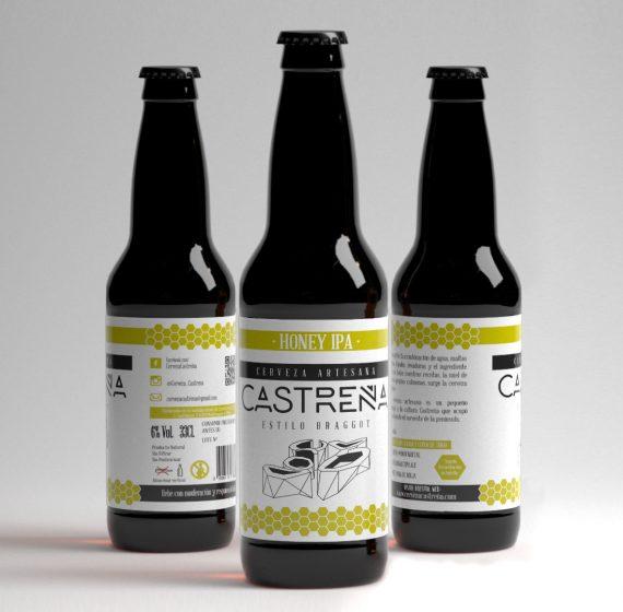 Honey IPA - Beer Made in Spain