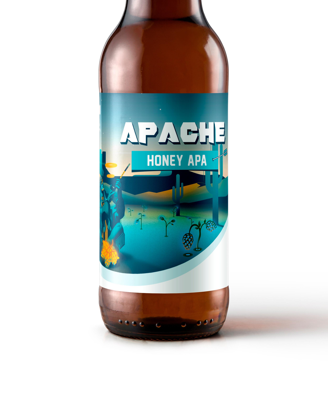 Honey Apache cerca | Cerveza artesana