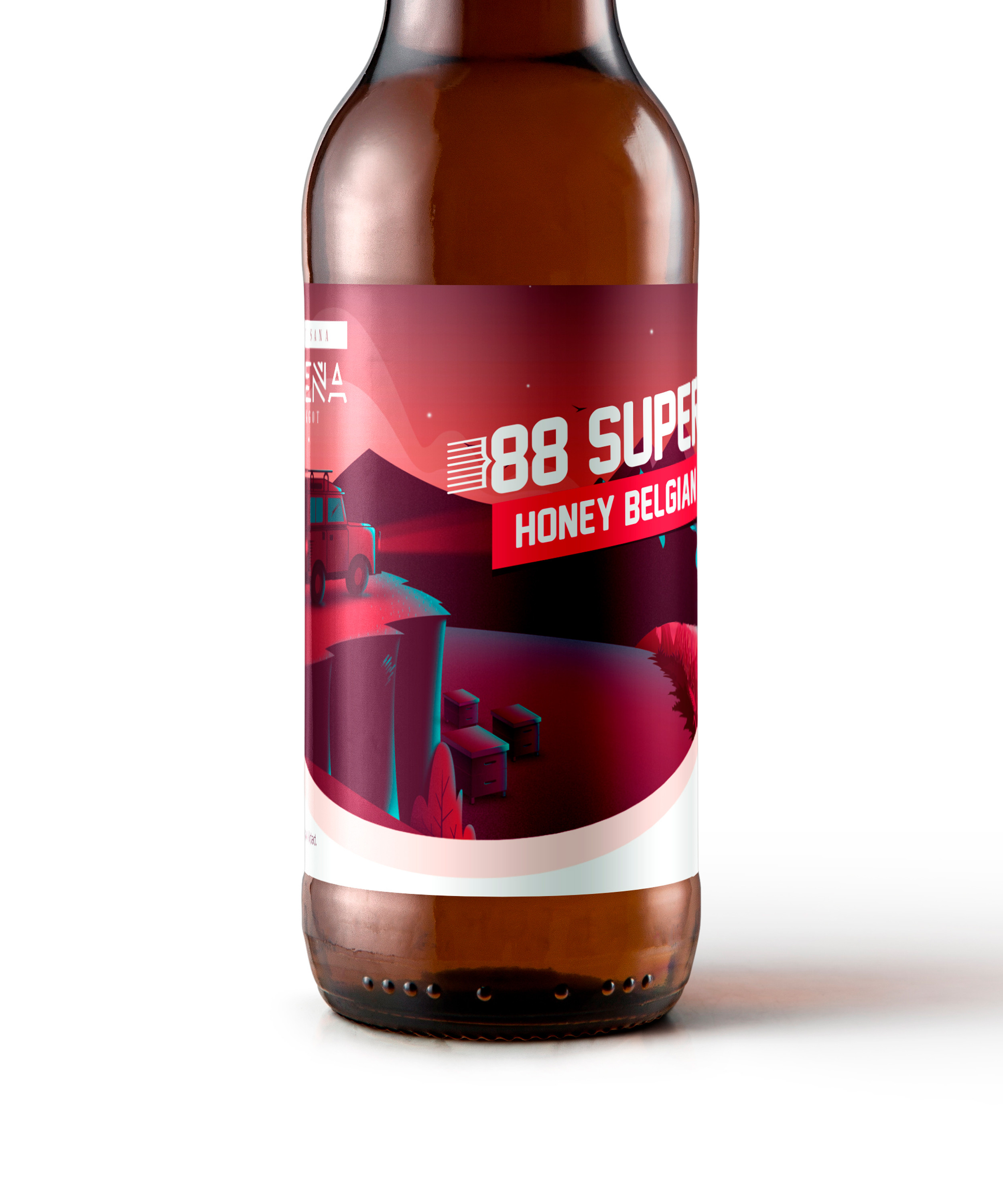 Honey 88Super cerca | Cerveza artesana